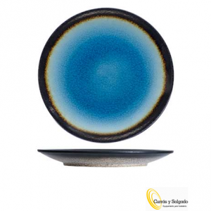 Plato llano fervido blue medida 26,5 cm. Plato fervido color azul. Estas piezas son una de las mejores colecciones de esta marca de cosy and trendy. Con color azul brillante, rodeado de un borde negro, haciendo una pieza muy llamativa. Consta de tres colores, verde, azul y amarillo, con algunas piezas mas, puede darse de alta en esta web y descargar los catálogos. Al tener varios colores, se puede mezclar y presentar una mesa espectacular. Son fáciles de apilar, se pueden lavar al lavavajillas. Puede pedirnos una muestra, se la enviaremos sin ningún problema. Plazo de entrega según proveedor y envió solo en península, para otros destinos le informaremos. Puede darse de alta, para descargar los catálogos.