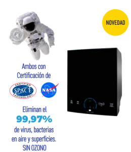 Purificador de aire pure & clean 29,85x24,13x25,40 cm.